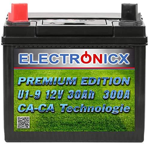Electronicx U1(9) 30AH 300A (EN) Green Power Batterie für...