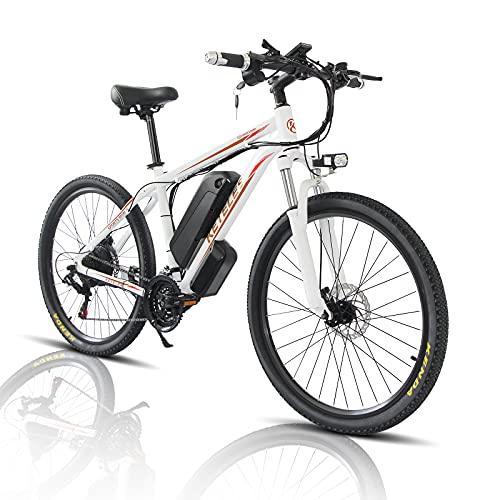 26/29 Zoll Elektro Fahrrad E-Bike, E-Mountainbike mit 1000W Motor...