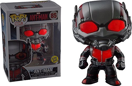 Funko 5618–Ant-Man, Pop Vinyl Figure 85Ant Glow in The...