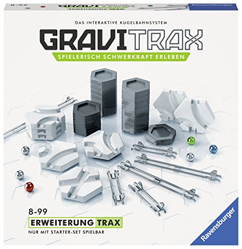 Ravensburger GraviTrax Erweiterung Trax - Ideales Zubehör für...