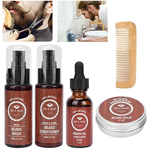 Bartpflege-Set, Bartöl macht den Bart gesund für jede Art von...