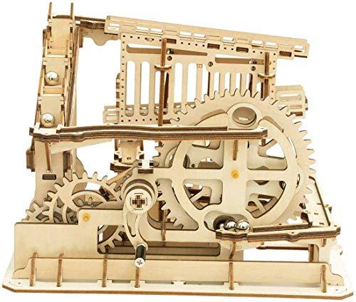 Robotime Mechanisches 3D Puzzle Spiel | Woodcraft Construction Moving Kit | Adult Craft Set...