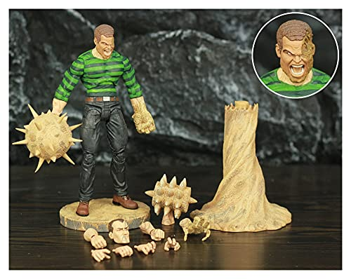 LIANGLMY Figur 7'Action Figure The Amazing Spider Legends Sand...