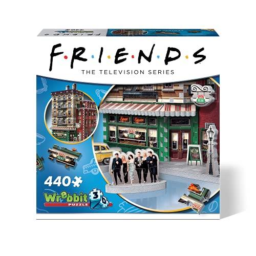 Wrebbit 3D W3D-1015 3D Puzzle, Mehrfarbig
