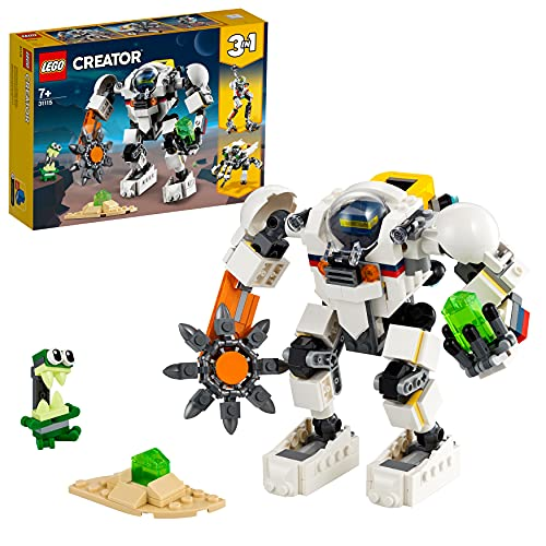 LEGO 31115 Creator 3-in-1 Weltraum-Mech, Weltraumroboter oder...