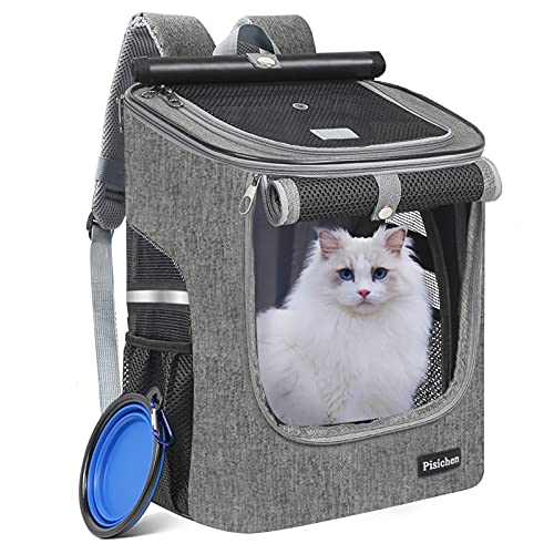 HTNZIRL Hunderucksack, Katzenrucksack für Katzen und Hunde...