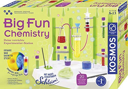 KOSMOS 642532 Big Fun Chemistry - Die verrückte Chemie-Station,...
