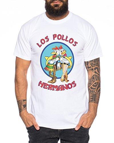 Los Pollos Herren T-Shirt Hermanos Bad Heisenberg Breaking,...
