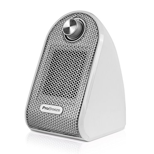 Pro Breeze™ 500W Mini-Keramik-Heizlüfter für den Arbeitsplatz...