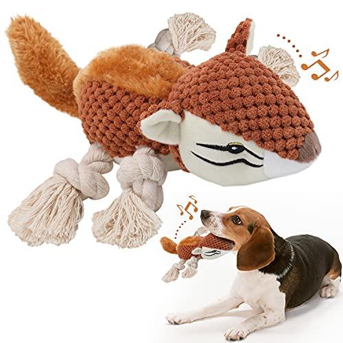 Hunde Plüschtier,Quietschendes Hundespielzeug mit...