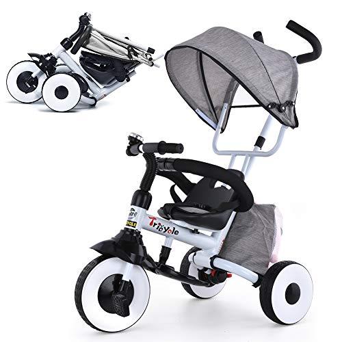 UBRAVOO Dreirad 4 in 1 Kinderdreirad Kinder Fahrrad Baby...