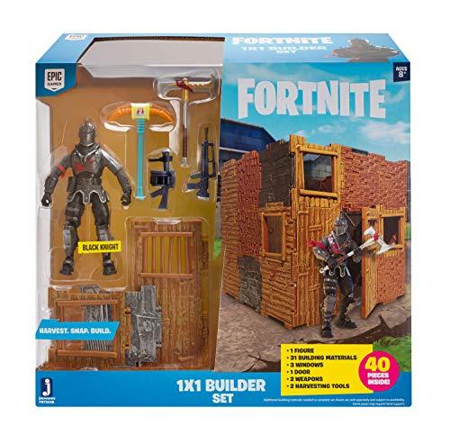 FORTNITE FNT0048 FORTNITE-1x1 Builder Set mit Spielfigur Black...