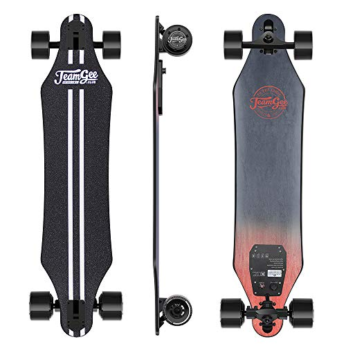 Teamgee H5 - Elektro Longboard Skateboard mit Fernbedienung,...