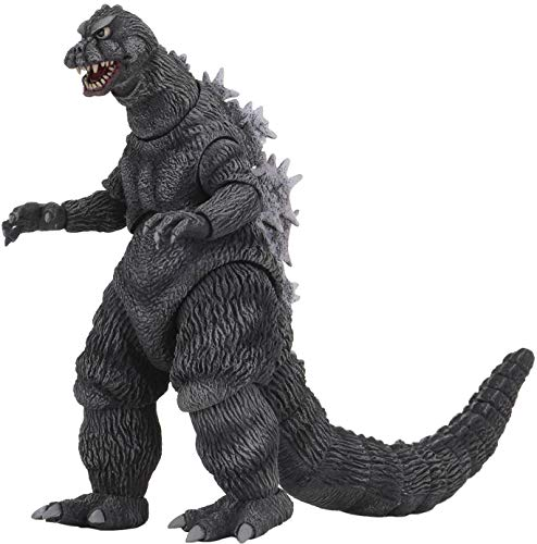 NECA Mothra vs Godzilla 1964 Godzilla 12'' Head to Tail HTT Action Figure, 302192