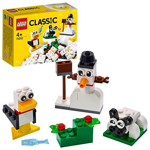 LEGO 11012 Classic Kreativ-Bauset mit weißen Bausteinen, Bauset...