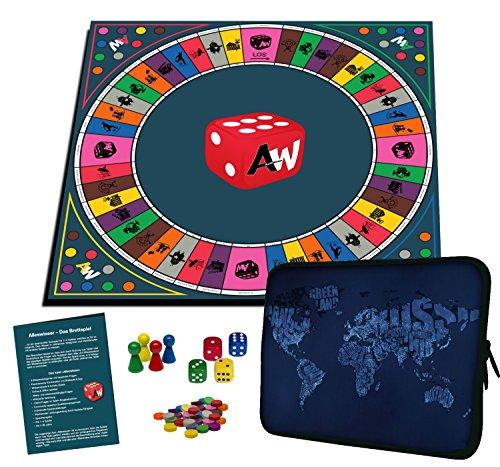 Alleswisser Quiz Brettspiel für Kinder u. Erwachsene ab 7 Jahre...