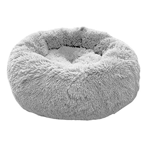 4L Textil Exklusives weiches und kuscheliges Hundebett Fuzzy...