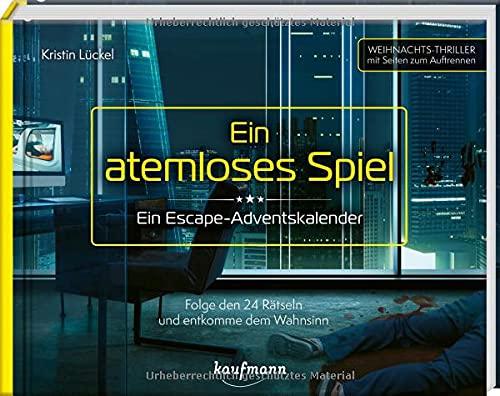 Ein atemloses Spiel - Ein Escape-Adventskalender: Folge den 24...