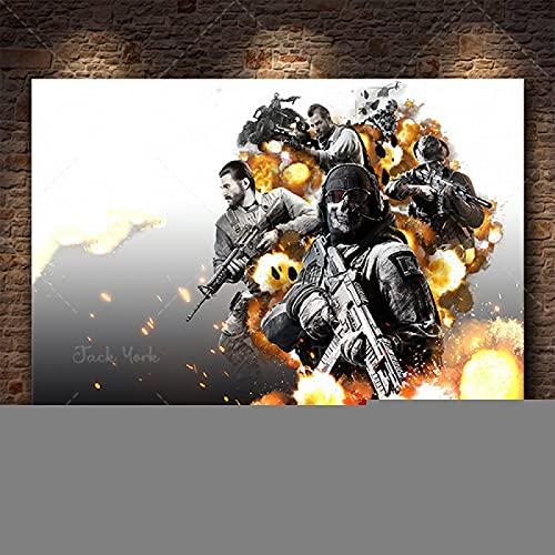 Call of Duty Leinwand Wandkunst Poster und Leinwanddruck...