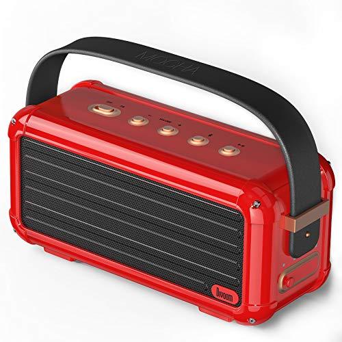Divoom Mocha 40W Retro Bluetooth Lautsprecher, 25h Spielzeit...