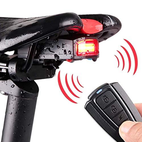 Fahrrad Rücklicht Alarm mit Drahtlose Fernbedienung,...