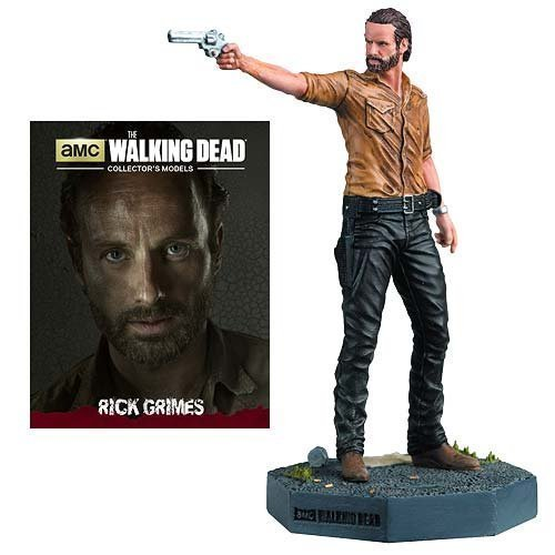 The Walking Dead Rick Grimes Figure with Collector Magazine #1 by...