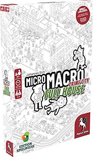 Pegasus Spiele 59061G MicroMacro: Crime City 2 – Full House...