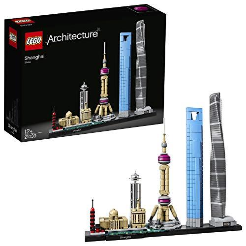 LEGO 21039 Architecture Shanghai Bauset mit dem Shanghai Tower und World Financial...