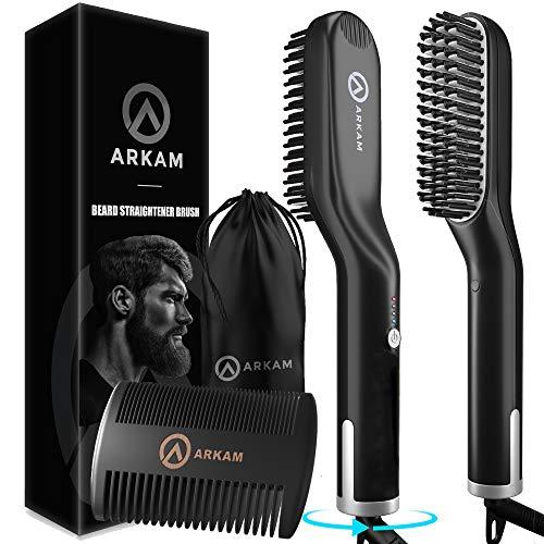 Arkam Elite Ionen Bartglätter für Männer mit Bartkamm -...