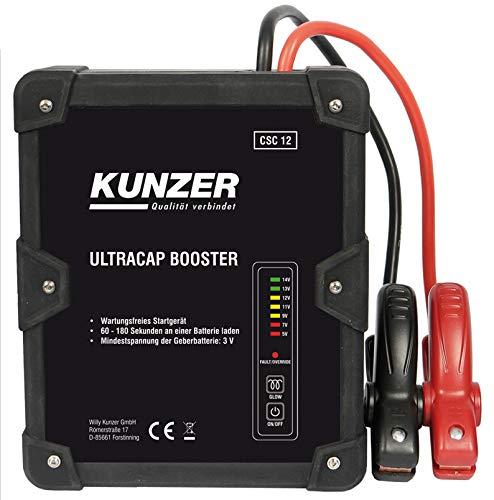 KUNZER (CSC 12) Wartungsfreie Starthilfe 12V mit...
