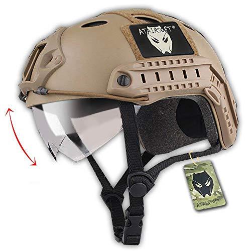 Softair Taktisch Armee Militär SWAT Kampf PJ Typ Schneller Helm...