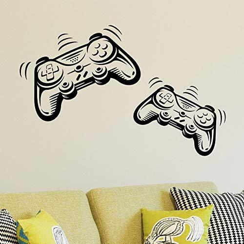 Joystick Playstation Gamepad Kinderzimmer Wandaufkleber Wandbild...