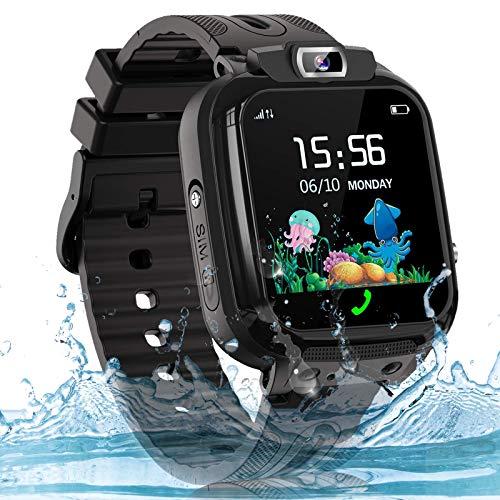 Smartwatch Kinder Uhr Telefon Kinder Smartwatch mit LBS Tracker...