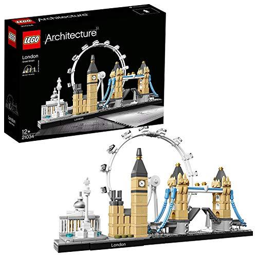 LEGO 21034 Architecture London, Skyline-Kollektion, London Eye, Big Ben, Tower...