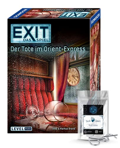 EXIT Das Spiel - Set: Der Tote im Orient-Express + 1x...