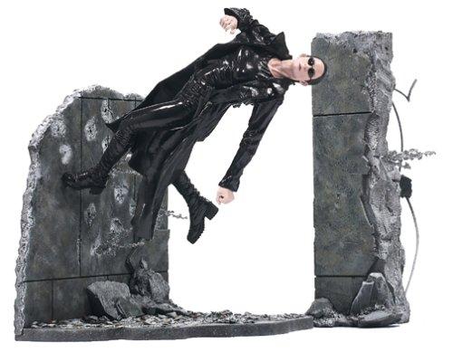 McFarlane Toys Series 1 Matrix Action Figure Trinity Lobby Scene
