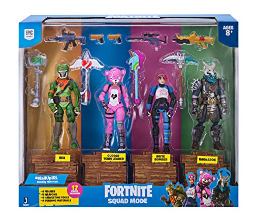 Fortnite Squad Mode 4-er Figuren-Pack
