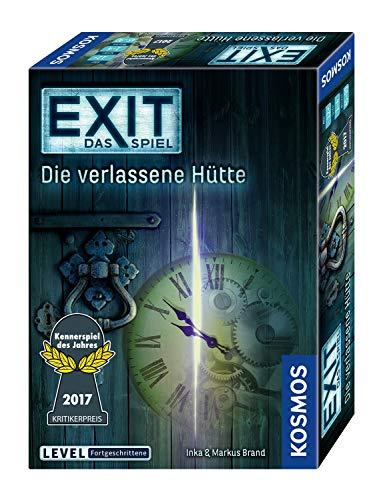 KOSMOS 692681 - EXIT - Das Spiel - Die verlassene Hütte, Kennerspiel des Jahres...