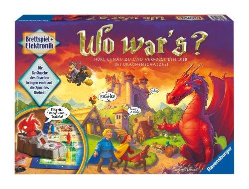 Ravensburger 21975 - Wo war's?