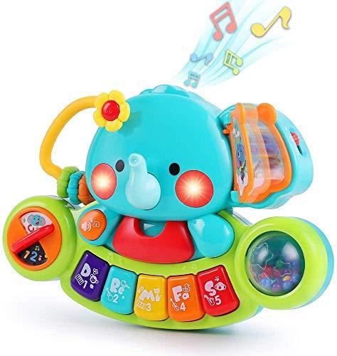 LUKAT Baby Musik Spielzeug für 6 9 12 18 Monate Kleinkinder,...