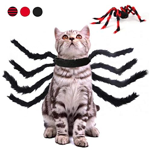 1 x Haustier-Halloween-Kostüm, Spinnen-Kostüm, lustiges...