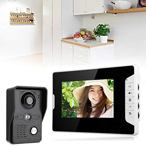 7' TFT Farb Video Gegensprechanlage Türsprechanlage Monitor...