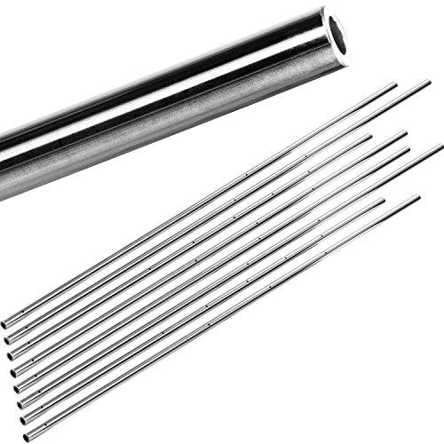 Tuniro® 8 Stück Spielerstangen (Vollstangen oder Basic/PRO Hohlstangen) Set, Durchmesser...