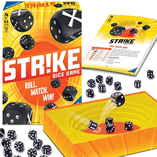 Ravensburger 26840 Strike Brettspiele, Mehrfarbig
