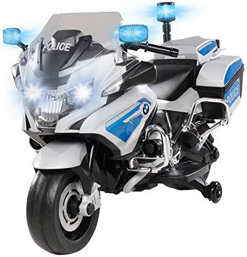 Kinder Polizei Elektromotorrad BMW R1200 Polizeimotorrad...