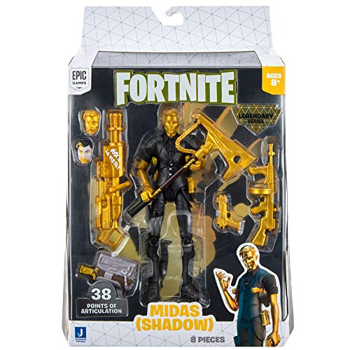 Fortnite FNT0656 Legendary Series Figuren-Pack-Midas, 15,2 cm