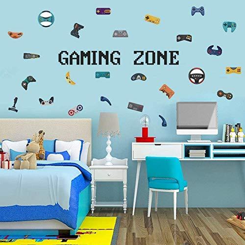 Wandtattoo Gamer   Wandsticker für Junge Schlafzimmer,Gaming...