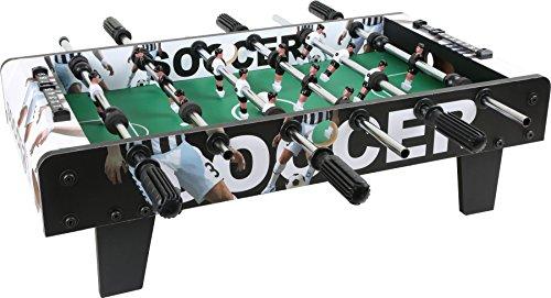 small foot 10248 Tischfußball aus Holz, Kicker-Tisch kann auf...