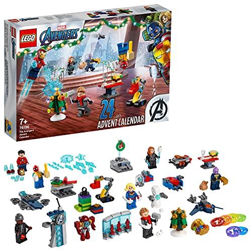 LEGO 76196 Marvel Avengers Adventskalender 2021 Spielzeugset aus...