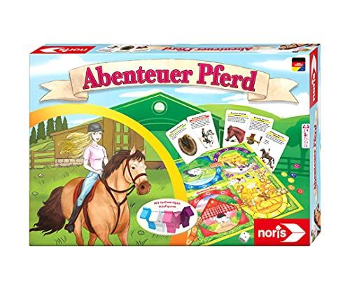 Noris 606011789 Abenteuer Pferd – Das Wissensspiel für alle...